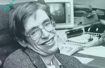 Stephen Hawking, escritor, físico teórico y cosmólogo (1942-2018)