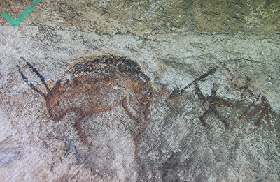 El arte rupestre podría ser el origen del lenguaje, según un estudio