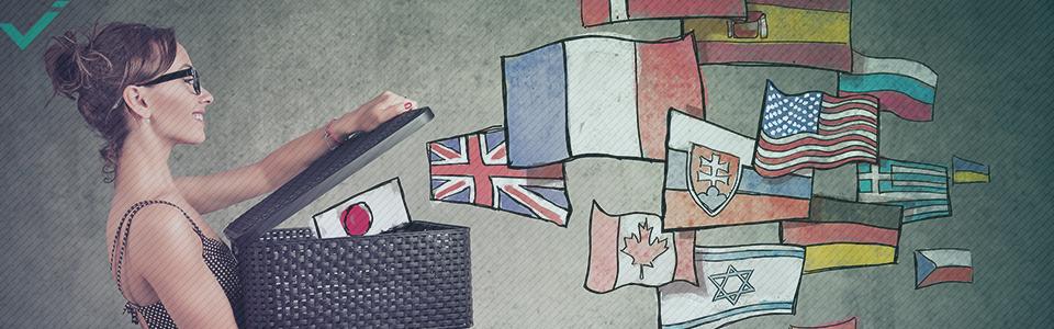 Het land met de meeste gesproken talen is...
