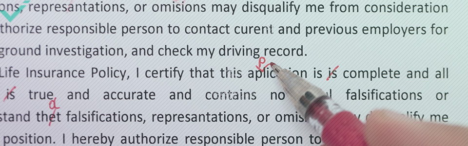 Mucha gente ve el proofreading como una forma de revisar la ortografía y gramática, el formato o errores tipográficos, algo que sin duda es correcto, aunque es más complejo que eso.