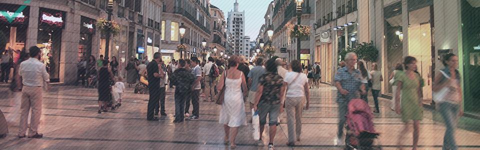 Een gemiddeld bedrag van 513 euro per persoon wordt jaarlijks online besteed in Spanje.