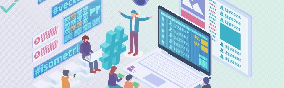 Utiliza hashtags que estén directamente relacionados con tu empresa y contenido.