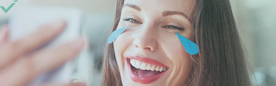 Parole che definiscono il 21° secolo: emoticon della faccina che ride con le lacrime